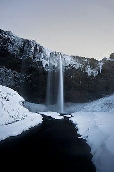 Seljalandsfoss #iceland #waterfalls. See more here: http://www.seljalandsfoss.com/