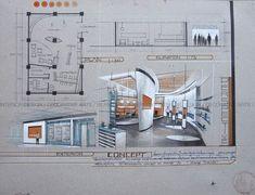 Buy Home Decorations Online Croquis Architecture, Architecture Concept Drawings, Architecture Sketchbook, Architecture Portfolio, Architecture Plan, Architecture Details, Interior Design Presentation, Architecture Presentation Board, Sketches Arquitectura