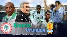 Confederations Cup, FIFA, International, NFF, Nigeria, Nigeria Super Eagles, Ondo and sport, Super Eagles, Uruguay