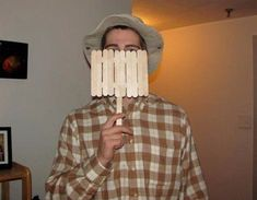 Hoping a male friend will do this next halloween....Wilson!!!