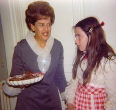 No, Grandma Inez, I don't want to hear about your drunk baking day with Aunt Minnie. Just hand over the damn rum balls.