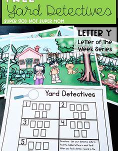 History Bulletin Boards, Hidden Letters, Alphabet Games, Letters For Kids, Letter Of The Week, Letter Recognition, Super Mom, Pre School, Second Grade
