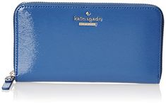 Women's Wallets - kate spade new york Cedar Street Patent Lacey Wallet Orbit Blue One Size -- Details can be found by clicking on the image.