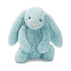 This super cute Jellycat Aqua Bunny soft plush toy is completely baby safe and we have many colours and sizes available in store