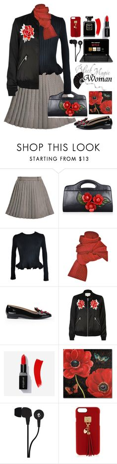 """22.10.17-2"" by malenafashion27 ❤ liked on Polyvore featuring Thom Browne, Chicnova Fashion, Prabal Gurung, Markus Lupfer, River Island, Trademark Fine Art, Skullcandy and Henri Bendel"