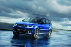 На конкурсе автомобильной красоты в Пеббл-Бич презентовали самый быстрый Range Rover Sport SVR.