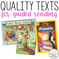 Quality Texts for Guided Reading