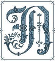 Gothic Alphabet N