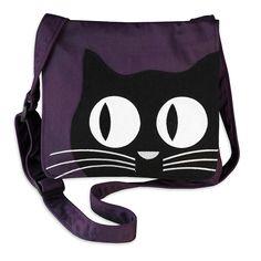 Messenger - Applique Cat