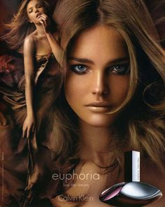 Natalia Vodianova for Euphoria by Calvin Klein (circa of the first ad campaigns I ever fell in love with. Calvin Klein Fragrance, Calvin Klein Euphoria, Perfume Ad, Best Perfume, Natalia Vodianova, Cindy Crawford, Heidi Klum, Beauty Makeup, Hair Styles