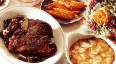 Côte de boeuf with pink peppercorn sauce and pan-fried mushrooms recipe