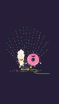 Donut and icecream