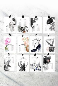 Beautiful Free Calendar from Smäm Printable Planner, Planner Stickers, Free Printables, Printable Calender, To Do Planner, Blog Planner, 2015 Planner, My Planner Colibri, Free Calendar