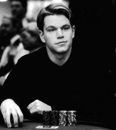 "Matt Damon en ""Rounders"", 1998"