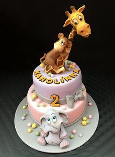 Giraffe - Cake by Romana Bajerová