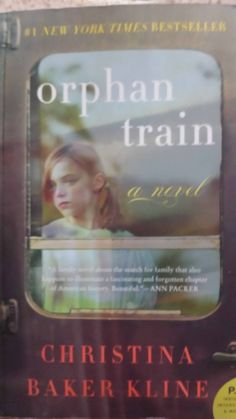 "Orphan Train by Christine Baker Kline An  historic novel exploring the life of a young girl in the 1920's who, after her parents died and she had no family, was sent to an Eastern US orphanage. This dark time in our history follows her life once she is sent west on an Orphan Train to be ""adopted"" by farm and factory owners to help with rigorous everyday chores.  I did enjoy this book though this truth is sad and embarrassing to think our country would find such a practice okay."
