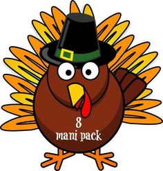 cartoon turkey in pilgrim hat thanksgiving clipart holidays rh pinterest com thanksgiving turkey clip art free thanksgiving turkey clipart black and white