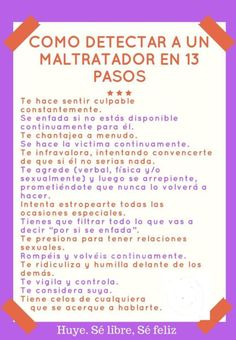 #Abuso #Maltrato #Narcisistas #ViolenciaDomestica #PsicopatasIntegrados Mindfulness For Kids, Original Quotes, Spanish Language Learning, Psychology Facts, Life Motivation, Healthy Relationships, Parenting Advice, Self Love, Stress