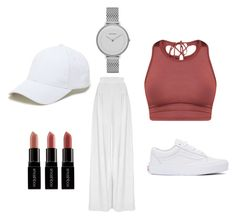 """Nr 156"" by matilda-ers on Polyvore featuring Vans, Smashbox, Hebe Studio, Skagen and Sole Society"