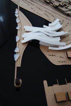 Model for a naval design center in Lisbon - The Designated Sketcher
