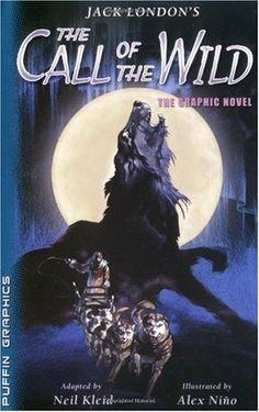 Mina Burrows: Creepy Classic: Jack London's The Call of the Wild 100 Best Books, Good Books, Children's Books, Wild Book, Night Book, Fantasy Authors, Call Of The Wild, Books For Teens, Teen Books