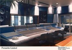Master Rock Studios( now closed), Rupert Neve Focusrite Console. Mark Hollis' solo album was recorded here.