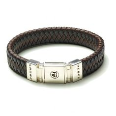 Rebel and Rose Absolutely Leather Black Earth Armband RR-L0001-S € 85,50