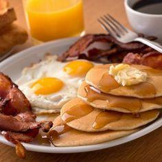 denny's pancakes, pancakes, denny's easy, fluffy, copycat