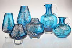 Vintage Vasen Florida Vase Design  Heinrich Löffelhardt von Schott Zwiesel