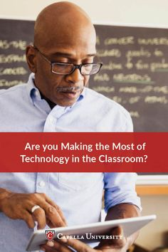 Classroom technology is a growing trend that's helping students better access information and prepare for a digital world. Click to discover real ideas of how to use technology in your classroom from Capella University.