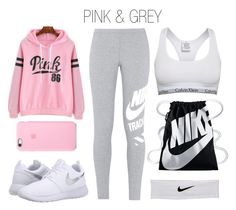 """""""Sporty outfit"""" by sarita-mejia-vargas ❤ liked on Polyvore featuring NIKE and Calvin Klein"""