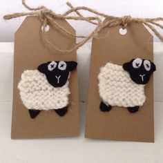 More sheep knitted gift tags now available and a wide variety of sheep cards. Free Shipping NZ