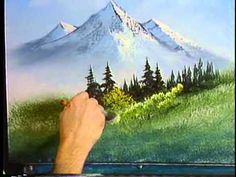 Bob Ross The joy of painting full episode. S2 E1 - Meadow Lake