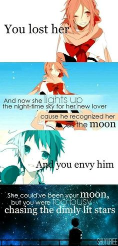 This is so true... Except your moon is still waiting to be noticed...