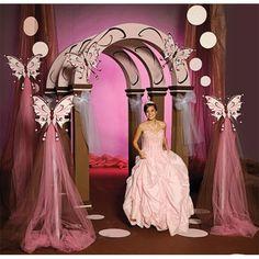 Fesselnde gerenderte Quinceanera-Mittelstücke – – - New Sites Quinceanera Decorations, Quinceanera Party, Wedding Decorations, Butterfly Party, Butterfly Wedding, 15th Birthday, Birthday Parties, Party Planning, Wedding Planning