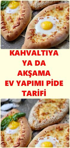 Ev Yapımı Pide Tarifi – Pratik yemekler – The Most Practical and Easy Recipes Homemade Beauty Products, Pasta, Health Fitness, Food And Drink, Bread, Meals, Cooking, Breakfast, Ethnic Recipes