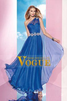 2015 une épaule robe de bal perlée tour de taille bas du dos avec lien à nouer sur l'épaule € 134.33 VGFPC3117RN - VoguePromDresses.fr for mobile