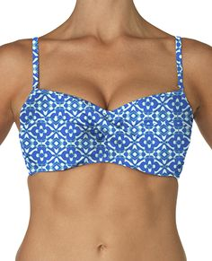 Suit Yourself's > Tops > Sunsets > Underwire Twist Bandeau - 600789429483   Suit Yourself