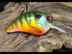 Ezs lures Custom painted  CRANK CAJUN CRAW