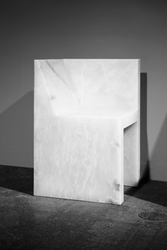 RICK OWENS Half Box Chair