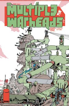 Multiple Warheads : Alphabet To Infinity #4/4. Covers by Brandon Graham.
