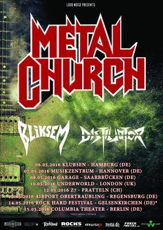 Metal Church 07.05.16 Musikzentrum, Hannover | Metalunderground