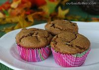 Easy Pumpkin Chocolate Chip Muffins | Our Best Bites    Tried these...they are AMAZING!!!!!!!!!!!!