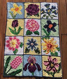 Free Nature C2C corner-to-corner crochet pattern Blanket CAL