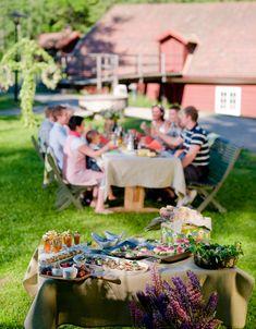 Mittsommer Skandinavien Speisen