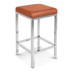 Tokyo Set of 2 Commercial Grade Bar Stools - Brown Bar Stools, Tokyo, Commercial, Brown, Furniture, Decorating, Orange, Home Decor, Bar Stool Sports