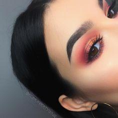 Gorgeous eyes makeup party makeup look bridal make up Makeup Eye Looks, Cute Makeup, Eyeshadow Looks, Gorgeous Makeup, Pretty Makeup, Skin Makeup, Beauty Makeup, Perfect Makeup, Awesome Makeup