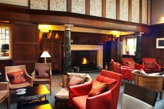 Alternatively, we have the Billiard room. With yet another grand fireplace, this room provides the perfect setting to laze in. Romantic Weekend Breaks, Jesmond Dene, Design Design, Interior Design, Billiard Room, Old Building, Newcastle, Hospitality, Events
