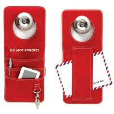 The Unforgettable Doorganizer - I would constantly lose my keys without this door hanger!