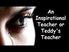 An Inspirational Teacher or Teddy's Teacher - YouTube